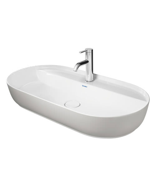 Additional image of Duravit Luv 800 x 400mm Ground Wash Bowl With Tap Platform
