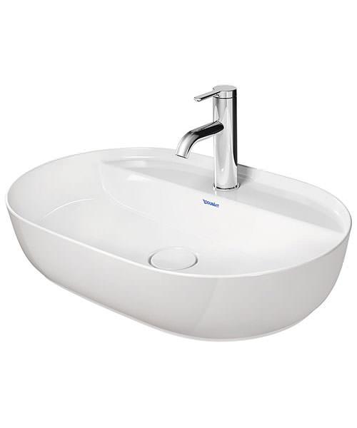 Duravit Luv 600 x 400mm Ground Wash Bowl With Tap Platform