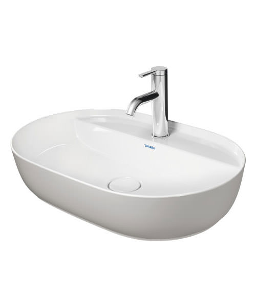 Additional image of Duravit Luv 600 x 400mm Ground Wash Bowl With Tap Platform