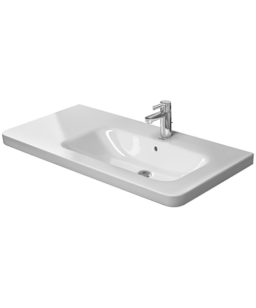 Duravit DuraStyle 1000 x 480mm Asymmetric Right Bowl Furniture Basin