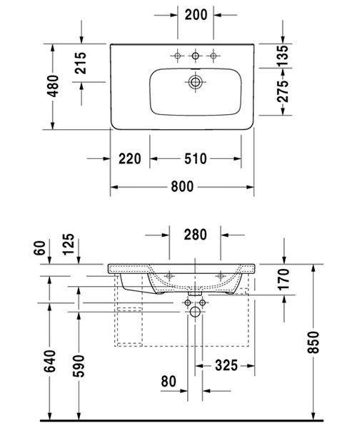 Technical drawing 4513 / 2326800000