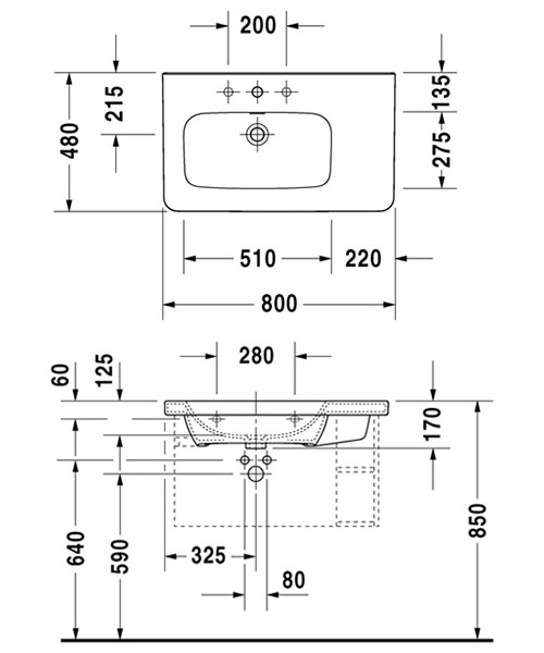 Technical drawing 4514 / 2325800000