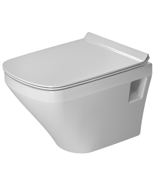 Duravit DuraStyle 370 x 480mm Compact Wall Mounted Toilet