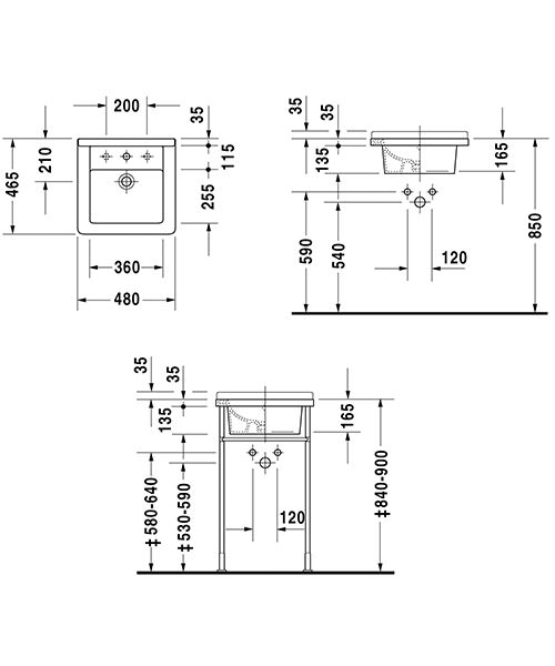 Technical drawing 6833 / 0303480000