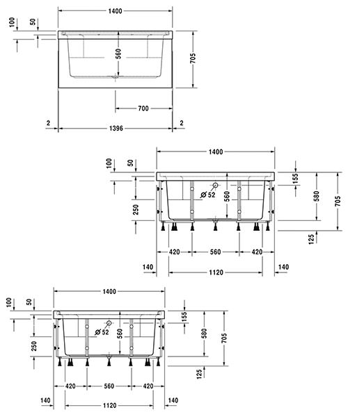 Technical drawing 50512 / 760402000JS1000