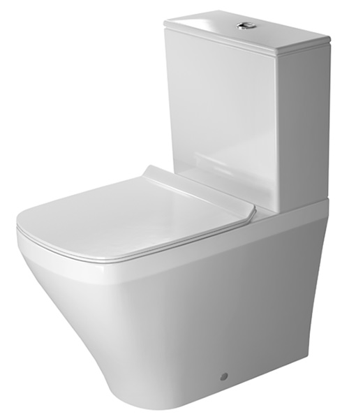 Duravit DuraStyle 390 x 630mm Close Coupled Washdown Toilet With Cistern