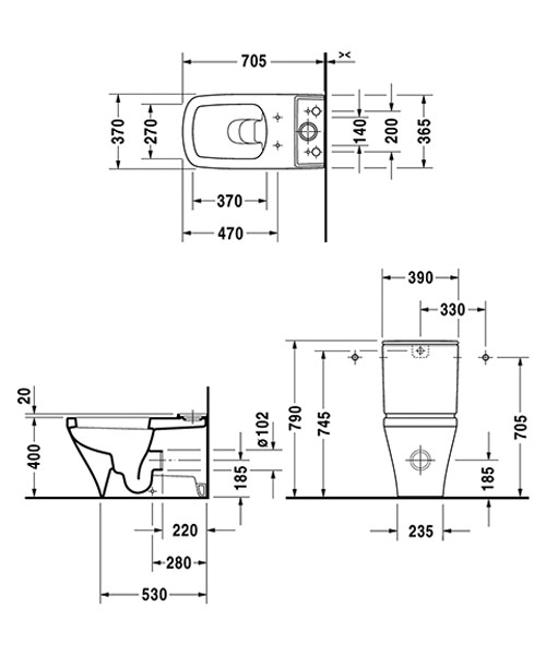 Technical drawing 4531 / 2156090000
