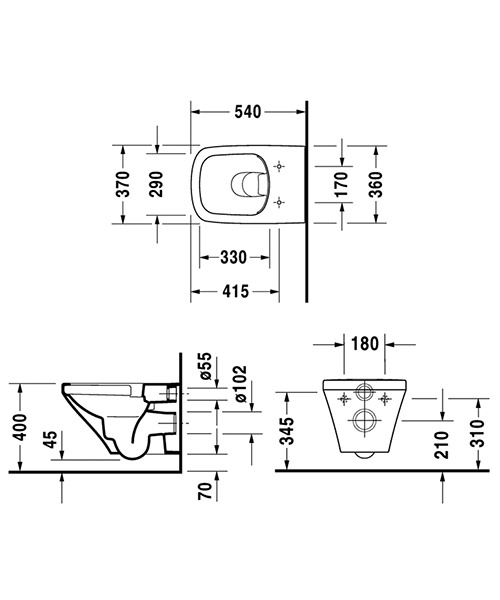 Technical drawing 37570 / 2551090000