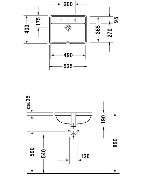Technical drawing 6831 / 0302490000
