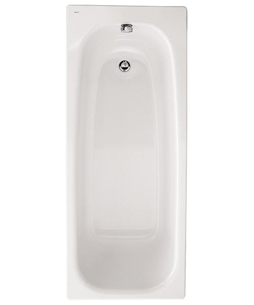 Twyford Neptune 1700 x 700mm Slip Resistant Steel Bath