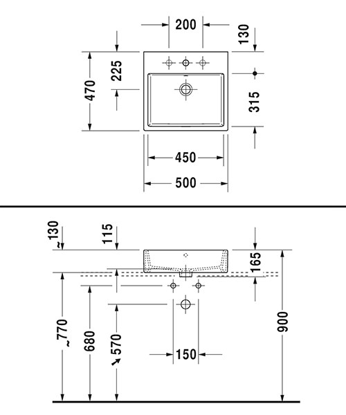 Technical drawing 32640 / 2352500060