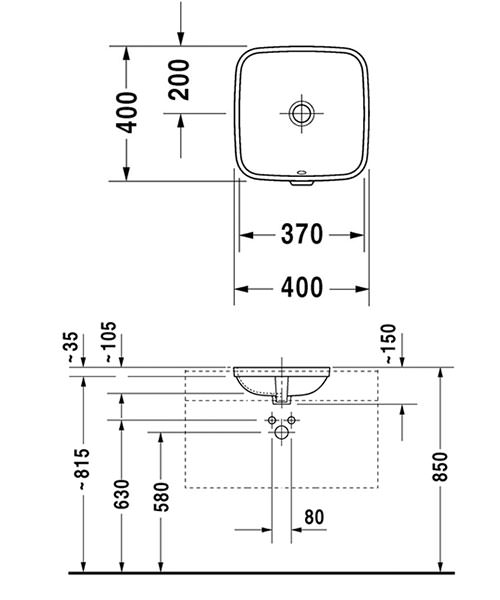Technical drawing 32343 / 0373370022