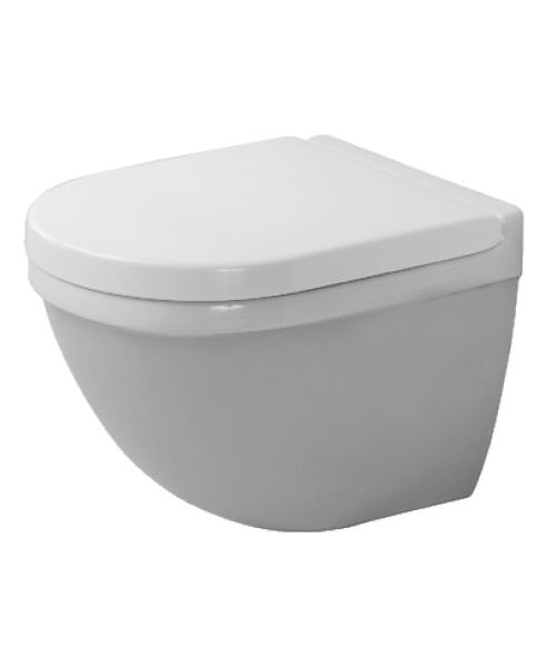 Duravit Starck 3 360 x 485mm Wall Mounted Toilet Compact