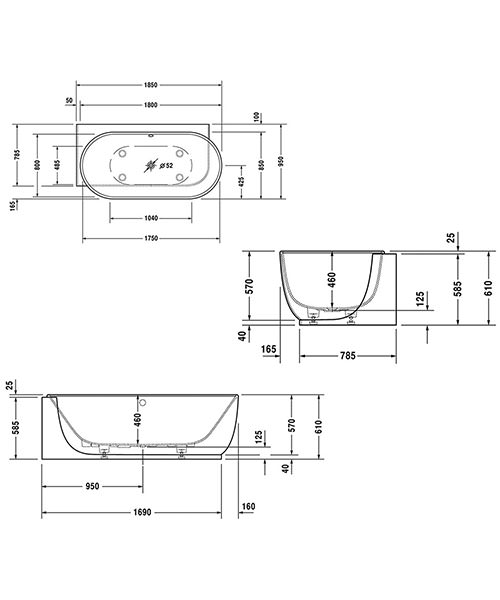 Technical drawing 50866 / 760431000AS0000