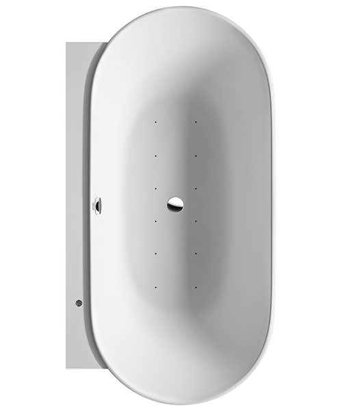 Duravit Luv Back To Wall Bath With Air System - 1800mm x 950mm