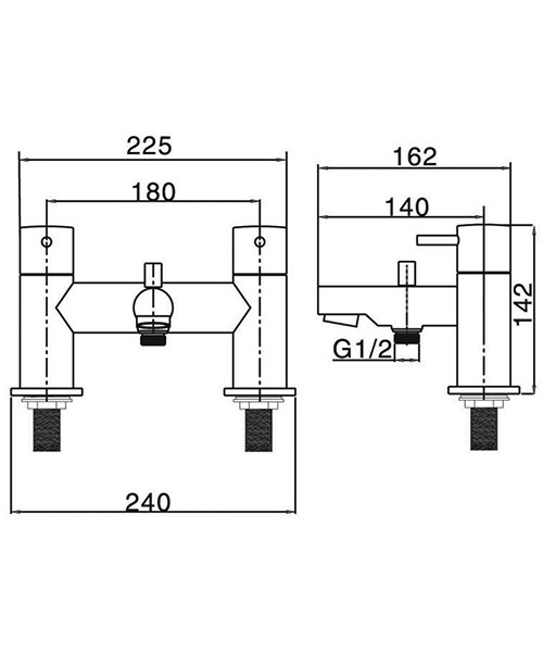 Technical drawing 13323 / KL422DC