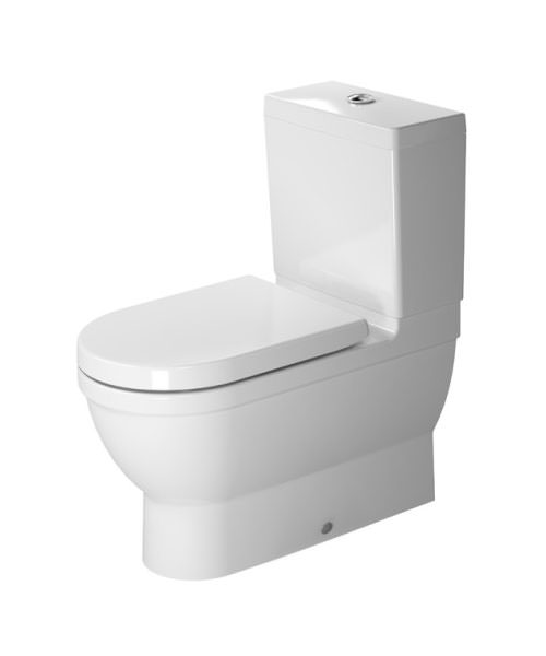 Duravit Starck 3 370 x 705mm Close Coupled Toilet With Cistern