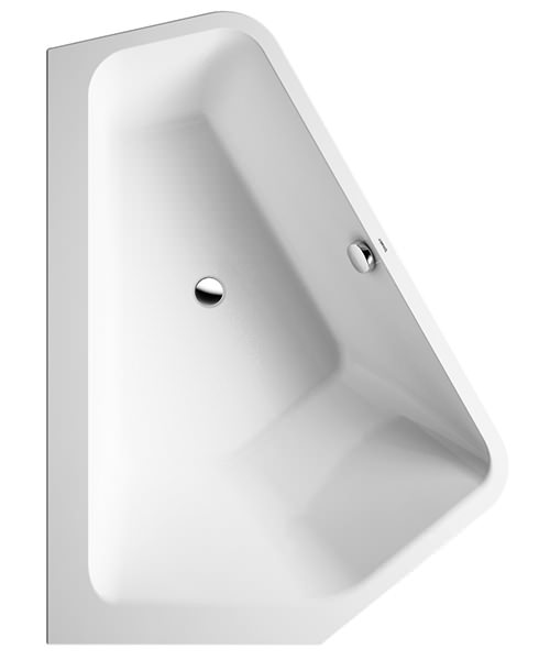 Additional image of Duravit Paiova 1770 x 1300mm Right-Left 5 Corner Built In Bath With Frame