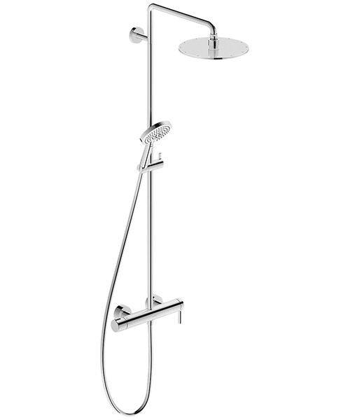 Duravit C.1 Manual Shower Valve With Rigid Riser And Handset