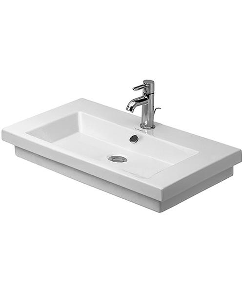 Duravit 2nd Floor 700 x 460mm Ground Washbasin