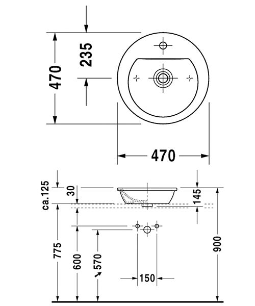 Technical drawing 4477 / 0497470000