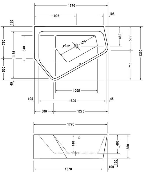 Technical drawing 50551 / 760394000CL1000