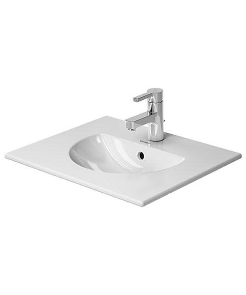 Duravit Darling New 530 x 430mm 1 Taphole Furniture Washbasin