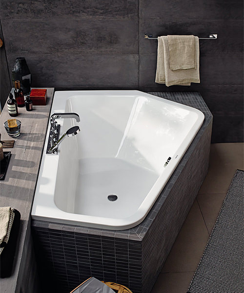 Additional image of Duravit Paiova 1770 x 1300mm Right-Left 5 Corner Built In Bath