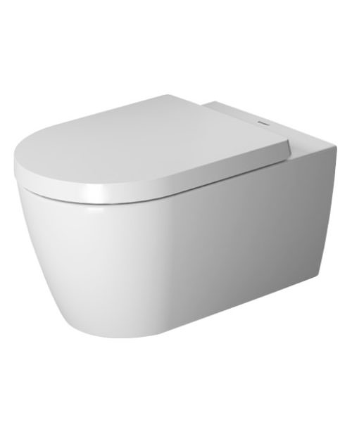 Duravit ME By Starck 370 x 570mm Rimless Wall Mounted Toilet
