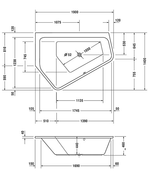 Technical drawing 41357 / 700392000000000