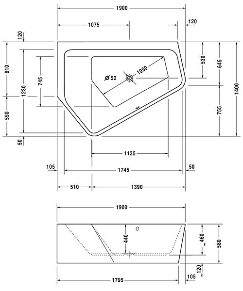 Technical drawing 50483 / 760394000JS1000