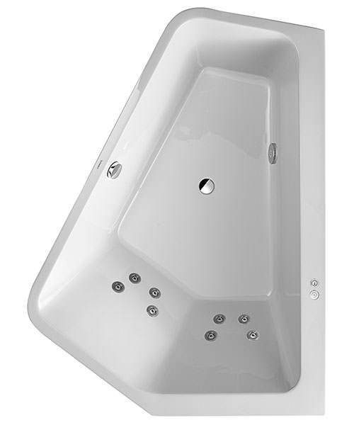 Duravit Paiova 1900mm 5 Corner Right Built In Bath With Jet System