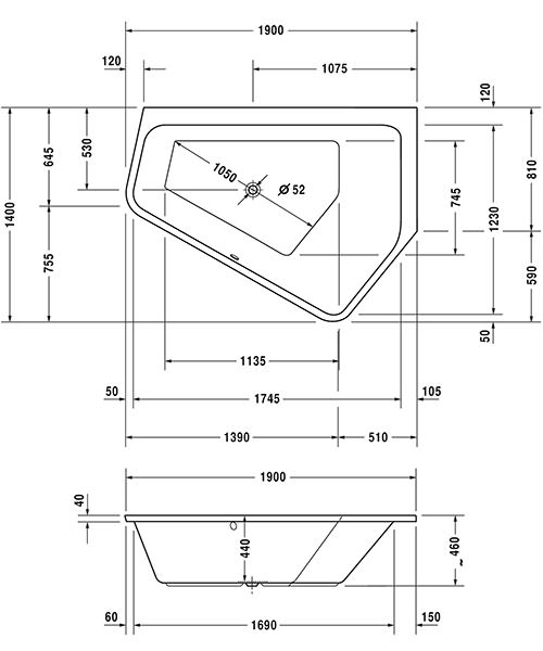 Technical drawing 50486 / 760393000JS1000