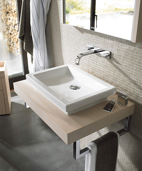 Additional image of Duravit 2nd Floor 580 x 415mm Ground Countertop Wash Bowl