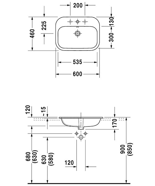 Technical drawing 12479 / 0483600000