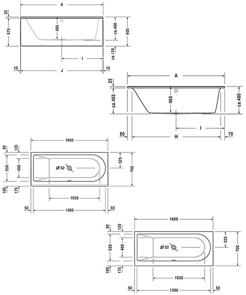 Technical drawing 50520 / 760238000CL1000