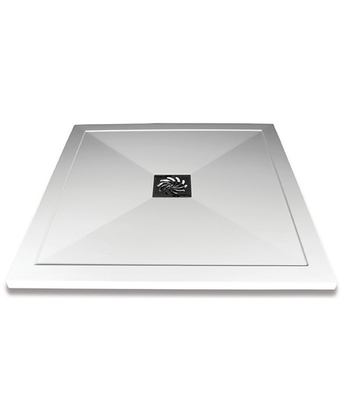 Saneux H25 Stone Resin Square Shower Tray - More Sizes Available