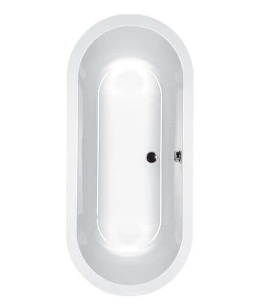 Carron Halcyon 1750 x 800mm 5mm Acrylic Inset Oval Bath