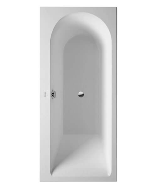 Duravit Darling New 1600 x 700mm Bath With Feet - One Right Backrest Slope