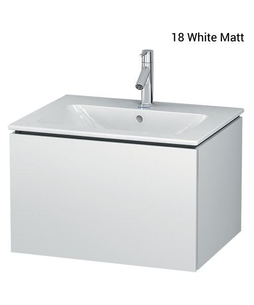Duravit L-Cube 620mm Wall Mounted Vanity Unit With Me By Starck Basin