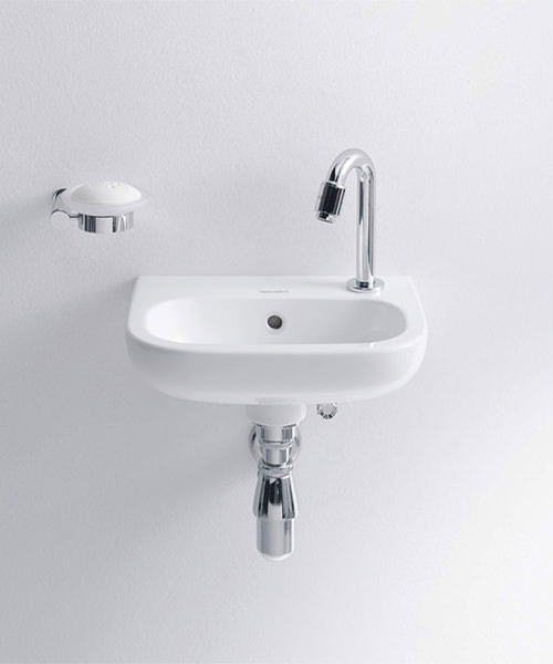Additional image of Duravit D-Code 360mm Handrise Basin