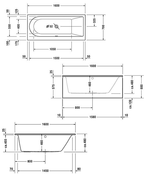 Technical drawing 50436 / 760239000JS1000