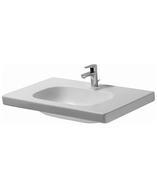 Duravit D-Code Washbasin Med 850mm Without Overflow