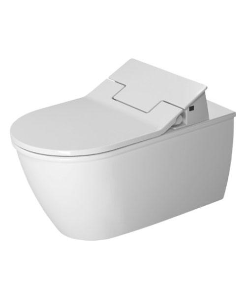 duravit darling new wall mounted toilet with sensowash. Black Bedroom Furniture Sets. Home Design Ideas