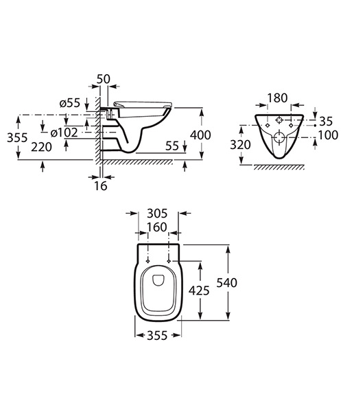 Technical drawing 45971 / 34699L000