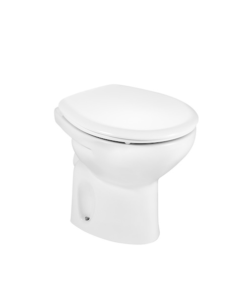 Roca Laura Low Level WC With Horizontal Outlet