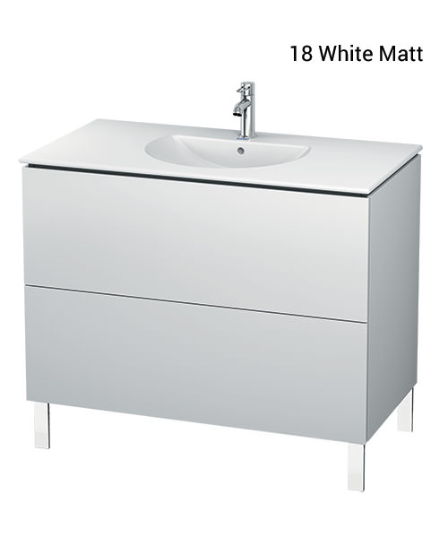 Duravit L-Cube 1020mm Vanity Unit With Darling New Basin