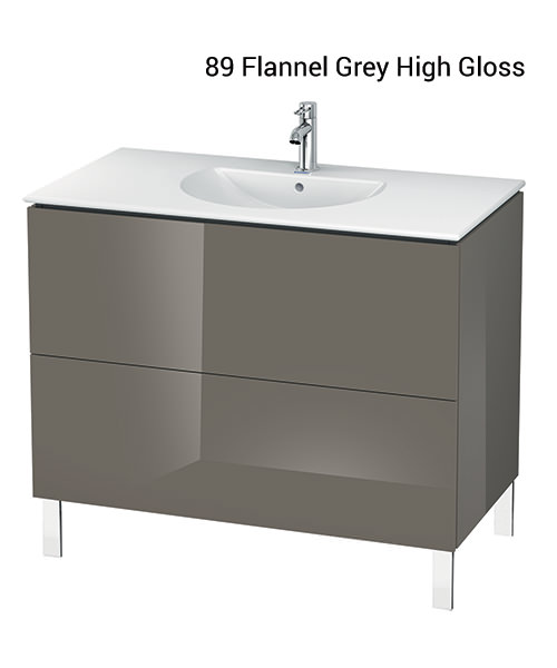 Alternate image of Duravit L-Cube 1020mm Vanity Unit With Darling New Basin