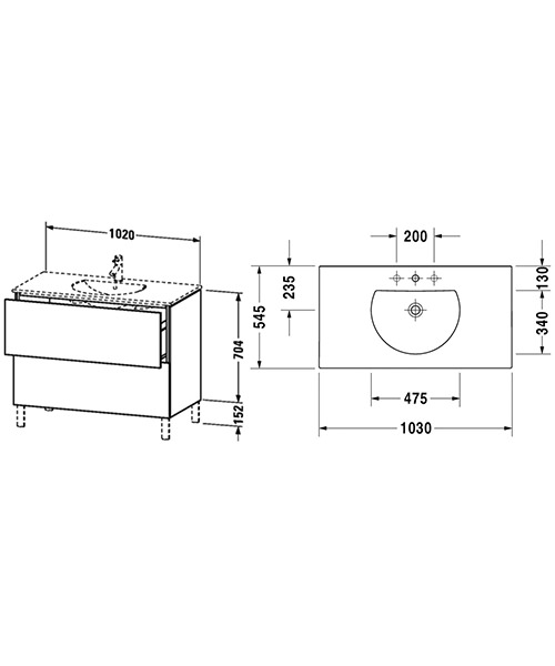 Technical drawing 54505 / LC660701818