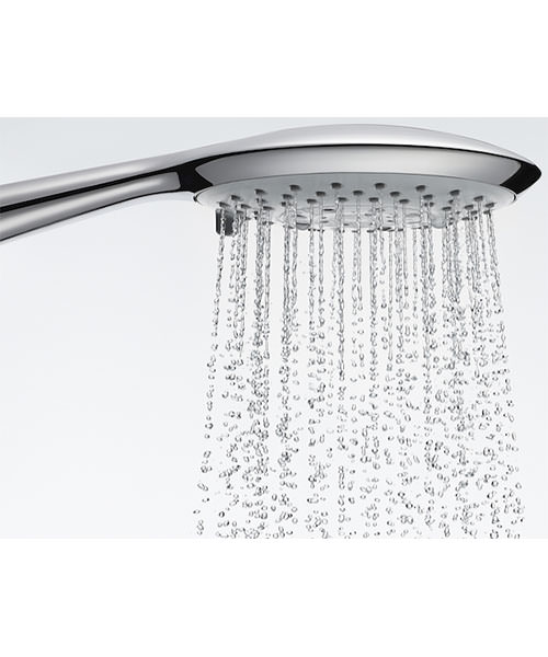Alternate image of Roca Deck Thermostatic Shower Column With Shelf